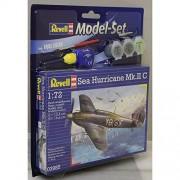 RCS Toys Revell 3985 1:72 Sea Hurricane Mk. II C Assembly Model Set