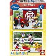 Educa 15290 - 2X20 Mickey Mouse Club House