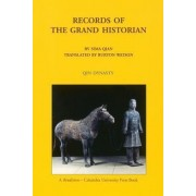 Records of the Grand Historian by Burton Watson