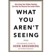 What You Aren't Seeing: How Using Your Hidden Potential Can Help You Discover the Leader Within, the Inspiring Story of Herb Greenberg by Patrick Sweeney