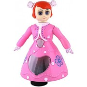 VALAMJI 3D Light Music Dancing Princess Barbie Girl Robot Gift Toy For Kids