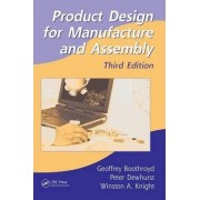 Product Design for Manufacture and Assembly by Geoffrey Boothroyd