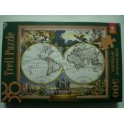 Пъзел 500 ел. Карта на света