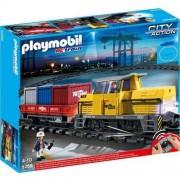 Playmobil 5258 Pociąg towarowy RC ze światłem i dźwiękiem - BEZPŁATNY ODBIÓR: WROCŁAW!