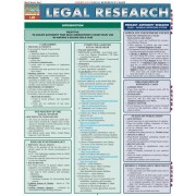 Legal Research Reference Chart by BarCharts Inc
