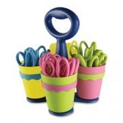Acme tijeras tijeras de Caddy con 24 (varios colores, acrílico, multicolor