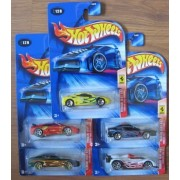 Hot Wheels 2004 Ferrari Heat COMPLETE SET: 360 Modena, F355 Challenge, 456M, 550 Maranello, 333 SP by Hot Wheels