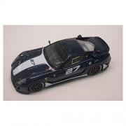 Ferrari 599 GTB, Fiorano Panamericana, azul, Modelo de Auto, modello completo, Look Smart 1:43