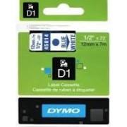 Dymo D1 Label Cassette 12mmx7m (SD45014) - Blue on White