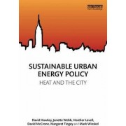 Sustainable Urban Energy Policy by David Hawkey