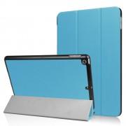 Licht blauwe Tri-Fold Smartcase hoes voor iPad (2017)