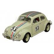 The Love Bug Diecast Model 1/18 1962 Volkswagen Beetle Herbie Hotwheels Elite Edition Mattel Hot Wheels