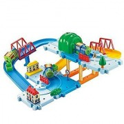 Century Castle Adventure Electric Train Set with Tracks Bridges and Tunnel 34 Piece