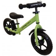 """Capetan® Energy Plus Zöld színű 12"""" kerekű futóbicikli sárhányóval és csengővel - pedál nélküli gyer"""