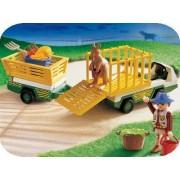 Playmobil 3242 Gardien De Zoo Vehicule D'entretien