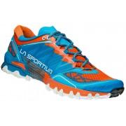 La Sportiva Bushido Trailrunning Shoes Men blue/flame 45 Running