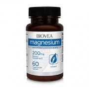 MAGNESIUM 200mg 60 Vegetarian Tablets