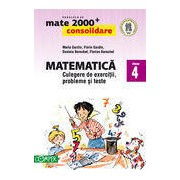 Matematica - culegere de exercitii probleme si teste. Clasa a IV-a. Editia 2013-2014