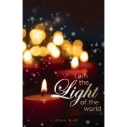 I Am the Light Candlelighting Christmas Bulletin (Pkg of 50)