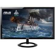 "Monitor Gaming LED Asus 24"" VX248H, Full HD (1920 x 1080), HDMI, 1ms GTG, Boxe, Flicker Free (Negru) + Bitdefender Antivirus Plus 2017, 1 PC, 1 an, Licenta noua, Scratch Card"