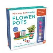 MindWare Paint Your Own Porcelain: Flower Pots