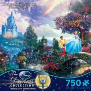 Thomas Kinkade The Disney Dreams Collection: Cinderella Wishes Upon a Dream Puzzle 750 pc