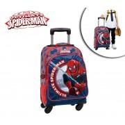 4082851 Trolley da viaggio Spiderman Ultimate in tessuto valigia 47x33x21 cm