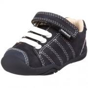 PediPed - Zapatillas de cuero para niño, azul oscuro (Navy), (