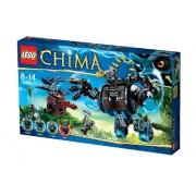 LEGO Legends Of Chima - Set de juego Gorzan's Jungle Striker (70008)
