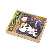 Farm Animals Lace and Trace by Melissa & Doug