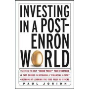 Investing in a Post-Enron World by Paul Jorion