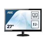 "AOC Q2778vqe 27"" Wide Quad Hd Tn Nero Monitor Piatto Per Pc 4038986185134 Q2778vqe 10_0g30211"