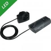 Ehmann LED Schnurdimmer max. 6x10W steckerfertig schwarz
