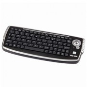 Mini Wireless Keyboard w/Trackball