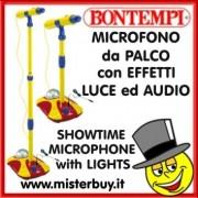 BONTEMPI SHOTIME MICROFONO PALCO CON EFFETTI LUCE