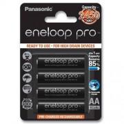 Panasonic 4 x akumulatorki Panasonic Eneloop PRO R6 AA 2550mAh BK-3HCDE/4BE (blister)