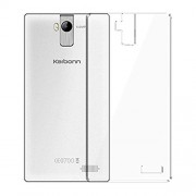 Noise Transparent Clear Silicone Jelly Soft Case Back Cover For Karbonn A6 Turbo
