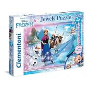 Clementoni 20133 - Puzzle Frozen, Gioielli, 104 Pezzi, Multicolore