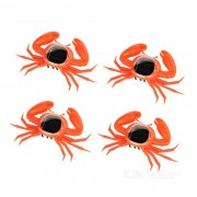 Educational Solar Powered Crabs Toy - Orange (4PCS)