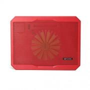 """wesdar 10 - 15.4 """"Laptop Pad di raffreddamento 1 grande silenziosa ventola di raffreddamento LED Alimentazione USB 8018-Red"""