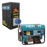 Benzinmotoros áramfejlesztő + HAE-1 indító automatika, max.6500VA egyfázisú (EGM-65 AVR-1E) (8896121