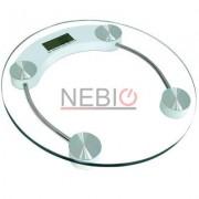 Cantar electronic Victronic, 150 kg, Platforma de sticla, Transparent