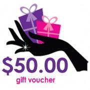 Gift Voucher Fifty Dollars