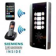 Interfon GSM Wireless Fara Fir AES GSM-800AB pentru 1 la 8 Familii
