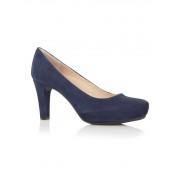 Unisa Pump Numar in donkerblauw nubuck