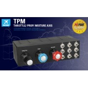 Saitek Pro Flight TPM :: Контролер Pro Flight Throttle, Prop and Mixture System - TPM