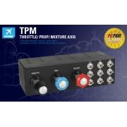 Saitek Pro Flight TPM :: Контролер Pro Flight Throttle, Prop and Mixture System - TPM