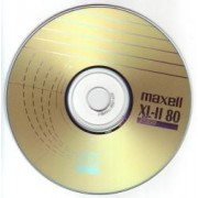 CD-R Audio Maxell 80 minute
