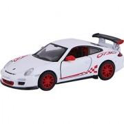 Baby Steps Kinsmart Die-Cast Metal 2010 Porsche 911 Gt3 Rs (White)