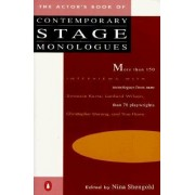 The Actor's Book of Contemporary Stage Monologues by Nina Shengold